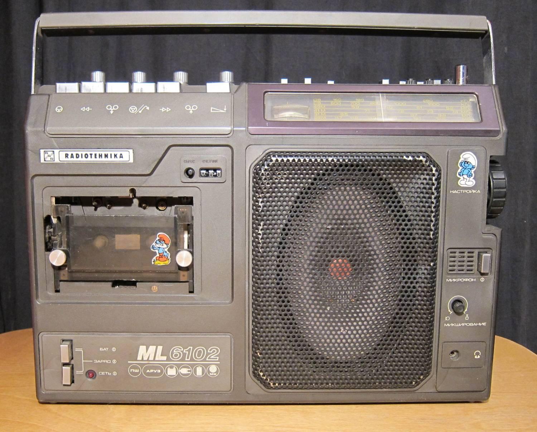 Магнитофон с дисководом 3